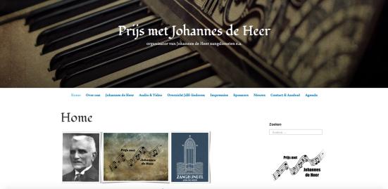 PMJDH site nieuwe stijl (vanaf eind 2018)