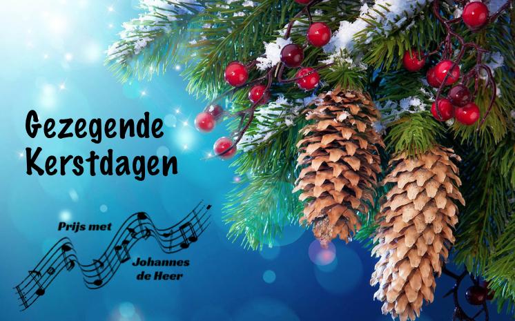 Gezegende Kerstdagen PMJDH